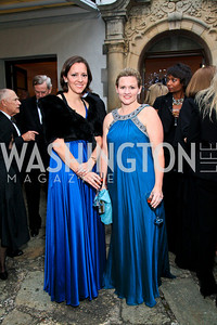 Sarah Canova, Sassy Jacobs. Photo by Tony Powell. The Purple Rain Ball. Swedish Ambassador's residence. May 13, 2010