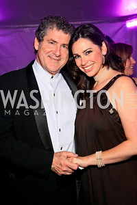 Robert and Aimee Lehrman. Photo by Tony Powell. The Purple Rain Ball. Swedish Ambassador's residence. May 13, 2010