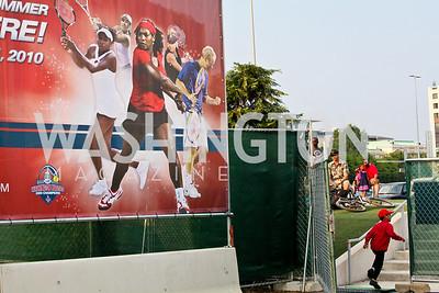Photo by Tony Powell. Kastles VIP Reception. Kastles Stadium. July 7, 2010