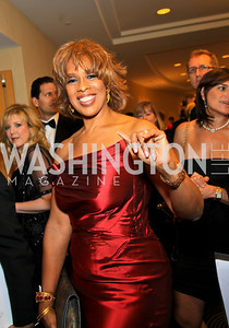 Gayle King. Photo by Tony Powell. WHCAD pre-parties. Hilton Hotel. May 1, 2010