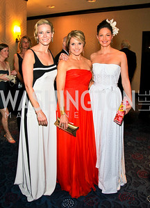 Chelsea Handler, Katie Couric, Ashley Judd. Photo by Tony Powell. WHCAD pre-parties. Hilton Hotel. May 1, 2010
