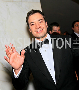 Comedian Jimmy Fallon. Photo by Tony Powell. WHCAD pre-parties. Hilton Hotel. May 1, 2010
