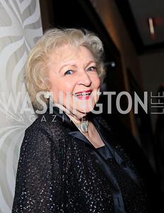 Betty White. Photo by Tony Powell. WHCAD pre-parties. Hilton Hotel. May 1, 2010