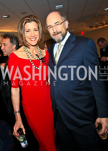 Just Shoot Me's Wendie Malick, The West Wing's Richard Schiff. Photo by Tony Powell. WHCAD pre-parties. Hilton Hotel. May 1, 2010