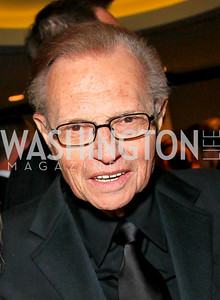 Larry King. Photo by Tony Powell. WHCAD pre-parties. Hilton Hotel. May 1, 2010