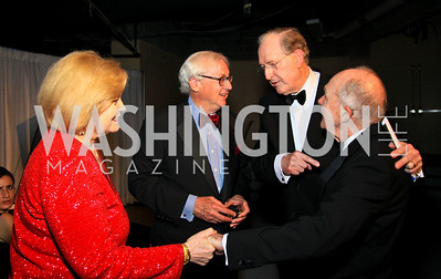Sharon Rockefeller, National Journal Publisher John Fox Sullivan, Senator Jay Rockefeller, Brent Scowcroft. Photo by Tony Powell. WHCAD pre-parties. Hilton Hotel. May 1, 2010