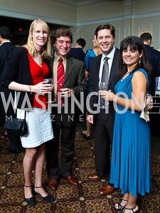 Photo by Tony Powell. Teri and Steve Vito, Greg and Kiya Sibley. Wings of Hope Gala. Trump Golf Club. November 6, 2010