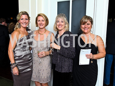Photo by Tony Powell. Natalie MacDonald, Amanda Street, Cathryn Lee, Jennifer Follin. Wings of Hope Gala. Trump Golf Club. November 6, 2010
