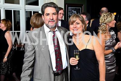 Photo by Tony Powell. Calvin Follin, Jennifer Follin. Wings of Hope Gala. Trump Golf Club. November 6, 2010