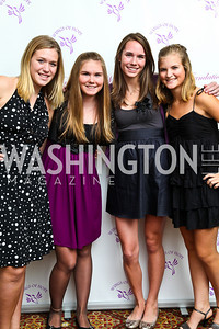 Photo by Tony Powell. Rachel Stottlemyer, Kate and Quinn Wilkinson, Lauren Antilety. Wings of Hope Gala. Trump Golf Club. November 6, 2010.
