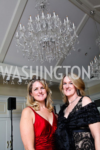 Photo by Tony Powell. Heather McQuaig, Audrey Shayo. Wings of Hope Gala. Trump Golf Club. November 6, 2010