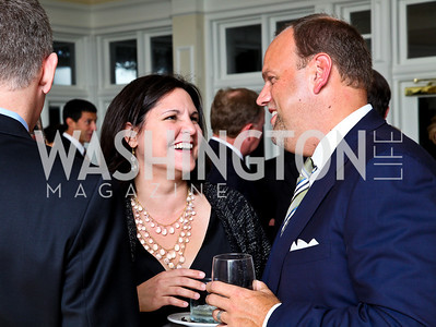 Photo by Tony Powell. Berna Diehl, Phil Simonides. Wings of Hope Gala. Trump Golf Club. November 6, 2010