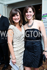 Photo by Tony Powell. Carrie Wagner, Colleen Gillis Snow. Wings of Hope Gala. Trump Golf Club. November 6, 2010