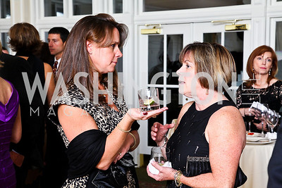 Photo by Tony Powell. Courtney Swart, Adele Yost. Wings of Hope Gala. Trump Golf Club. November 6, 2010
