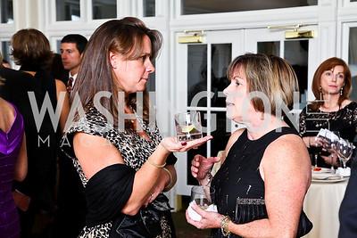Photo by Tony Powell. Courtney Swart, Adele Yost. Wings of Hope Gala. Trump Golf Club. November 6, 2010