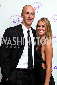 Photo by Tony Powell. Sean Glennon, Chelsea Willis. Wings of Hope Gala. Trump Golf Club. November 6, 2010