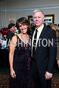 Photo by Tony Powell. Cath and Rex Ahlstrom. Wings of Hope Gala. Trump Golf Club. November 6, 2010