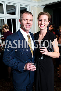 Photo by Tony Powell. Chris and Courtney Freck. Wings of Hope Gala. Trump Golf Club. November 6, 2010