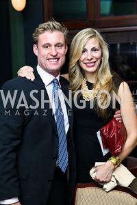 Photo by Tony Powell. Stephan Rodiger, Marissa Piopato. Wings of Hope Gala. Trump Golf Club. November 6, 2010