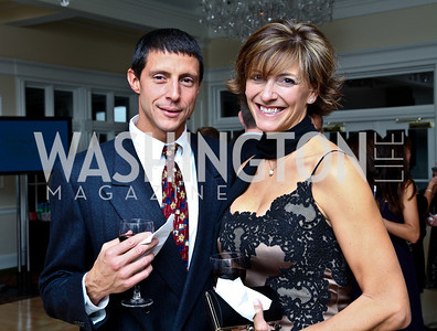 Photo by Tony Powell. Claudio Borgiotti, Julie Young. Wings of Hope Gala. Trump Golf Club. November 6, 2010