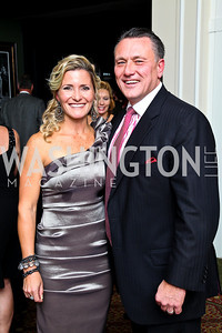 Photo by Tony Powell. Natalie and Chad MacDonald. Wings of Hope Gala. Trump Golf Club. November 6, 2010