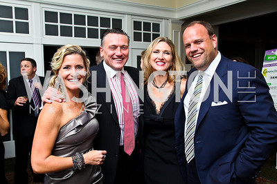 Photo by Tony Powell. Natalie and Chad MacDonald, Shaun and Phil Simonides. Wings of Hope Gala. Trump Golf Club. November 6, 2010