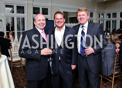 Photo by Tony Powell. Ed Duncan, Ed Dean, Jim McQuaid. Wings of Hope Gala. Trump Golf Club. November 6, 2010