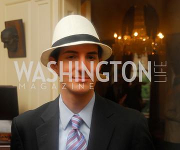 Kyle Samperton, May 12, 2010, Woodrow Wilson House Garden Party, Graham Green