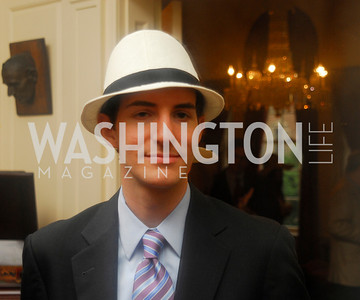 Kyle Samperton, May 12, 2010, Woodrow Wilson House Garden Party, Graham Green