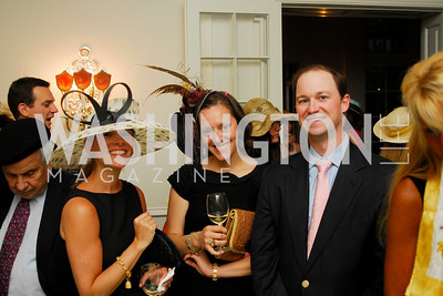 Kyle Samperton, May 12, 2010, Woodrow Wilson House Garden Party, Elizabeth Powell, Sarah Canova, Kip Kranbhul