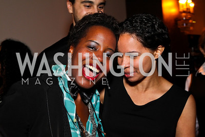 Photo by Tony Powell. Tiffany Singleton, Sally Steele. Year Up Gala. W Hotel. November 17, 2010