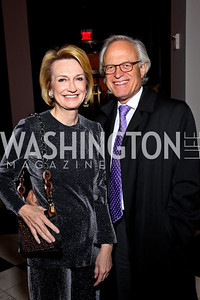 Photo by Tony Powell. Gahl Burt and Martin Indyk. Year Up Gala. W Hotel. November 17, 2010
