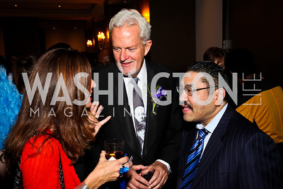Photo by Tony Powell. Michelle Freeman, Jack Davies, Robert Hisaoka. Year Up Gala. W Hotel. November 17, 2010