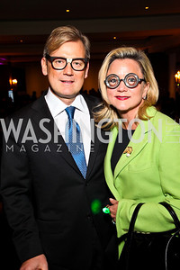 Photo by Tony Powell. Mark and Lyn McFadden. Year Up Gala. W Hotel. November 17, 2010