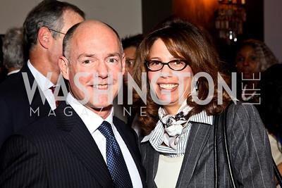 Photo by Tony Powell. Andrew Heller, Bobbie Peterson. Year Up Gala. W Hotel. November 17, 2010