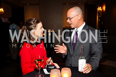 Photo by Tony Powell. Amber Herman, Michael Mascolo. Year Up Gala. W Hotel. November 17, 2010