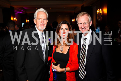 Photo by Tony Powell. Jack Davies, Michelle Freeman, Jack Evans. Year Up Gala. W Hotel. November 17, 2010