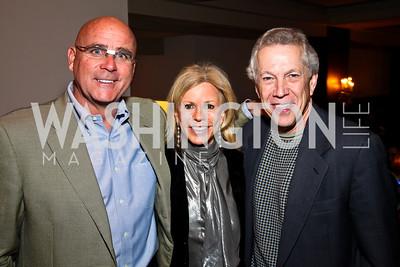 Photo by Tony Powell. Michael Joseph Murphy, Susan Hurley Bennett, Richard Collins. Year Up Gala. W Hotel. November 17, 2010