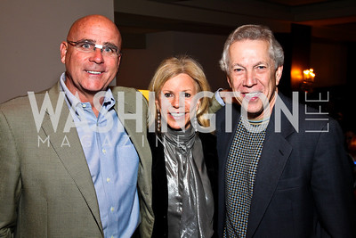 Photo by Tony Powell. Michael Joseph Murphy, Susan Hurley Bennett, Richard Collins. Year Up Gala. W Hotel. November 17, 2010