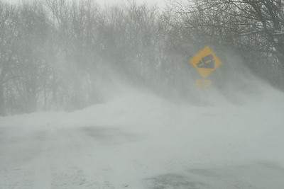 This was what the roads looked like as we got close to West VA