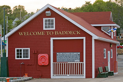 Baddeck, Nova Scotia was our first stop