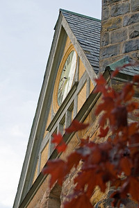 A clock in Baddeck