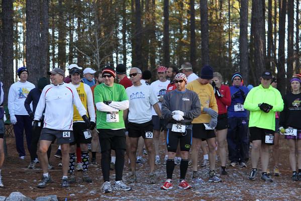 Bartram Forest marathon/50K 2010