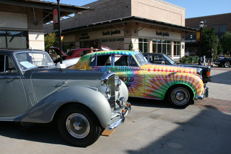 B361TO shares space with the St Arnold's Brewery tie dyed Bentley SI