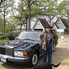 Xavier and his 1997 RR Silver Spur welcome everyone...