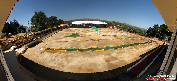 2010 Euros track - Guarda Portugal - before event