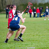3/25 Girls Bainbridge at Snohomish by Sue Larkin : Snohomish hosted Bainbridge at Harvey Airfield Field.  Lots of rain, wind and mud on the grass field.  Final score:  BI-16, Snohomish-5
