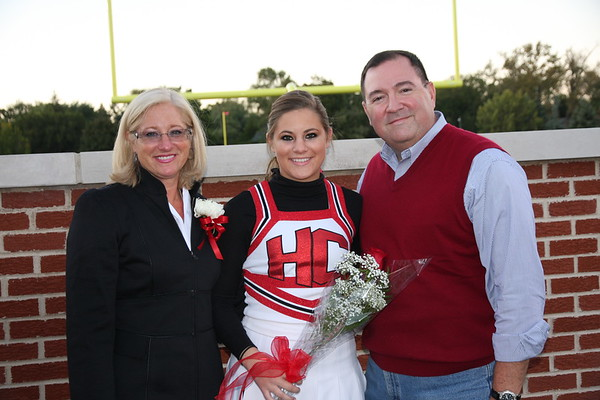 Cheerleaders and Parents