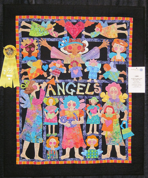 Honorable Mention<br /> Guardian Angels God Will Send Thee<br /> Carol Skinner