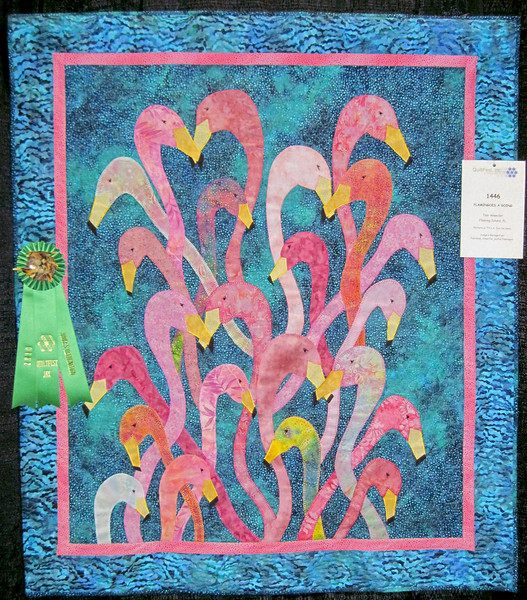 Judge's Recognition<br /> Flamingoes A' Going<br /> Toni Anweiler